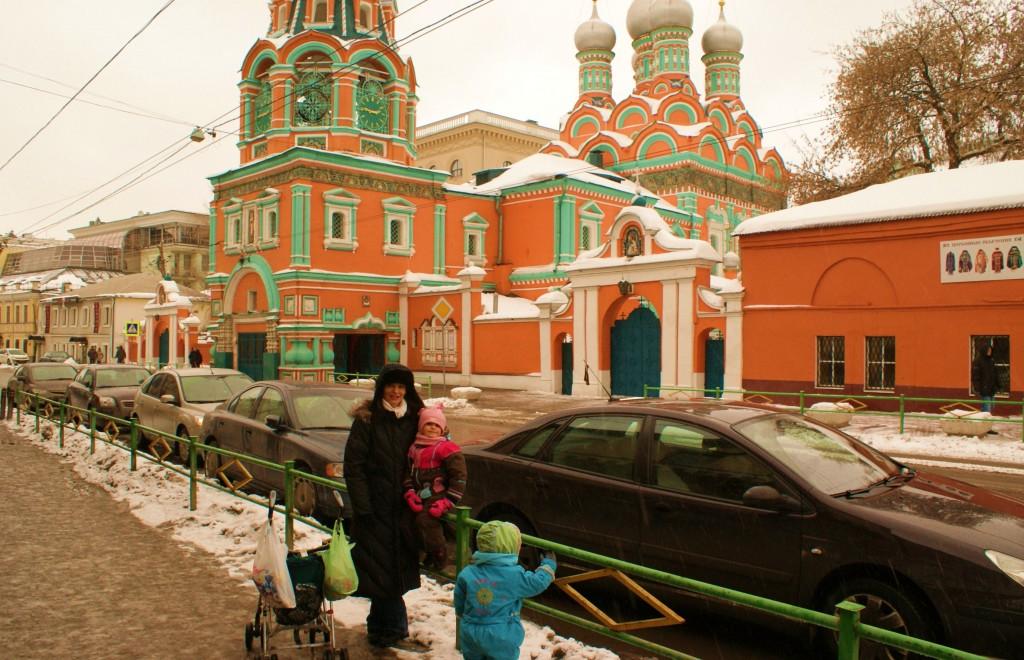 Une rue de notre quartier moscovite.