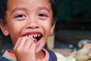 Garçonnet de Sumatra