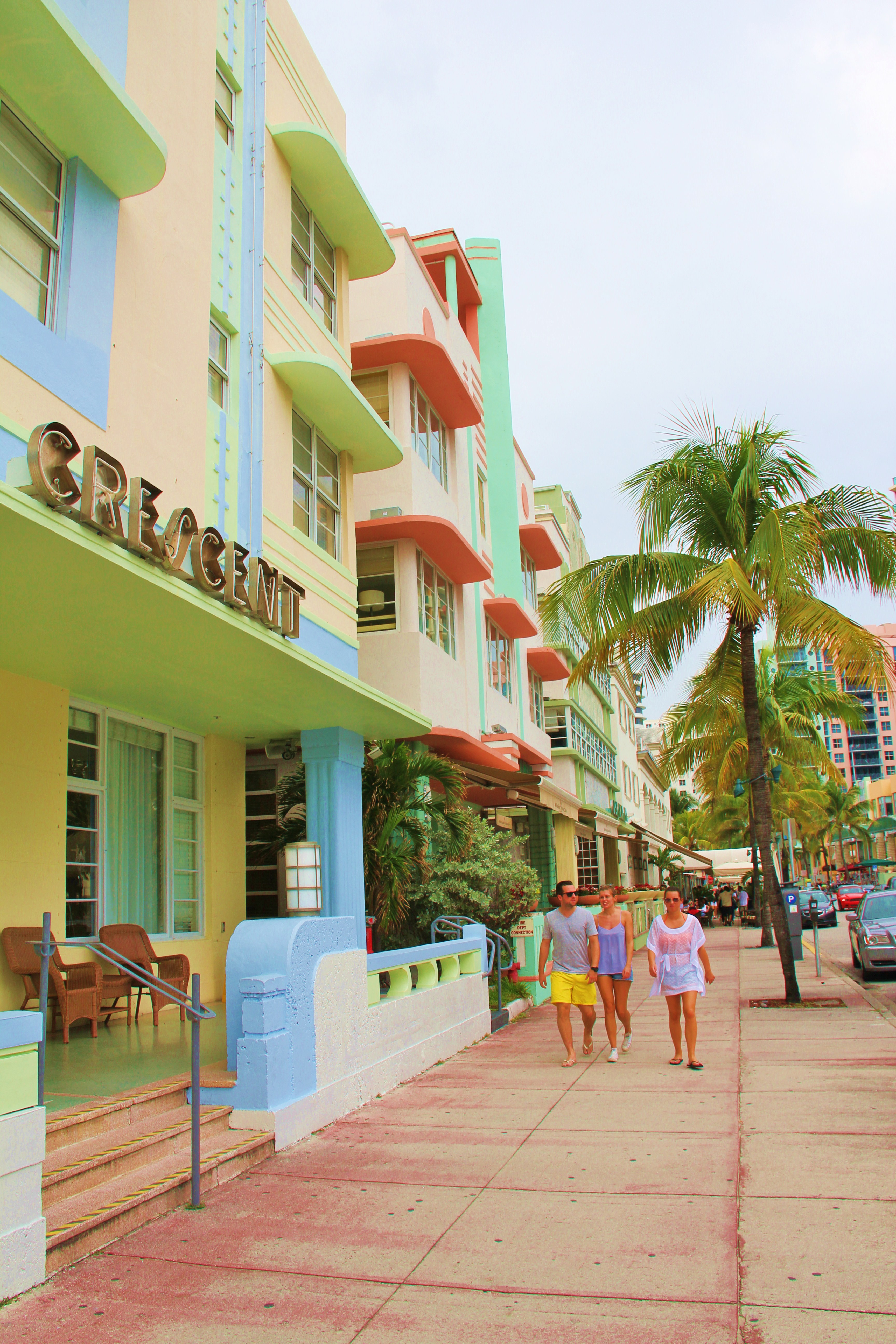 L Acidulé South Beach En Famille Le Quartier De Barbie Maman Globe Trotteuse