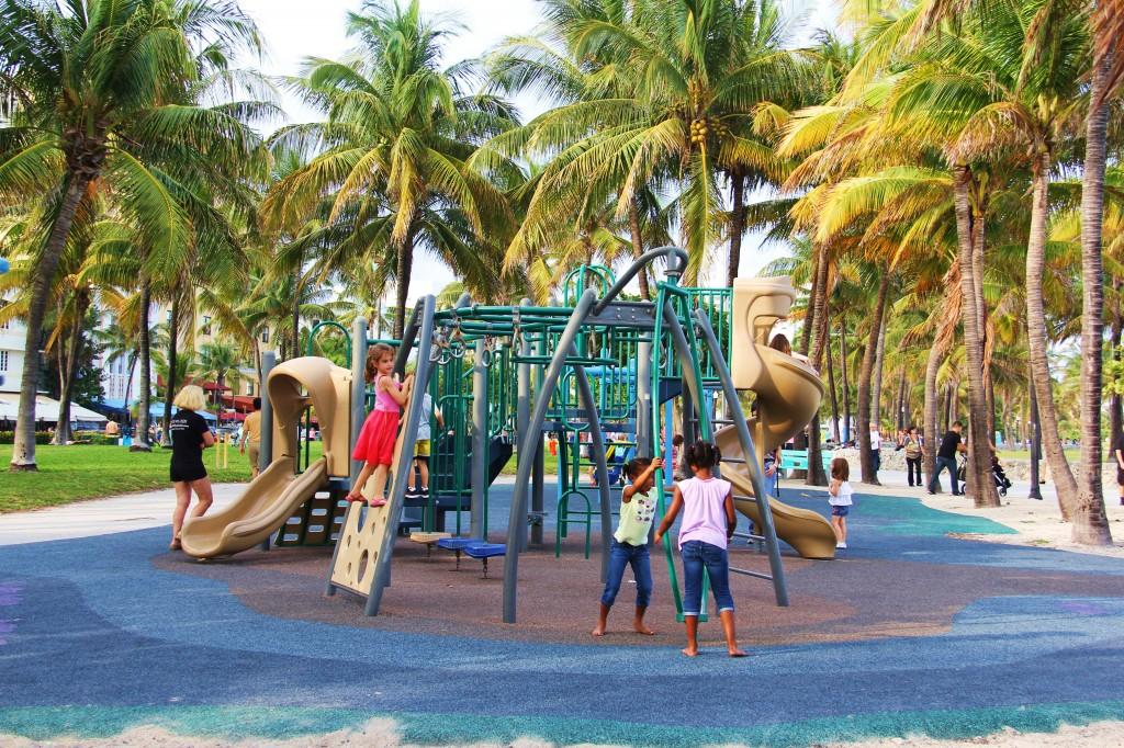South Beach et ses alentours privilégient la vie familiale. On aime !