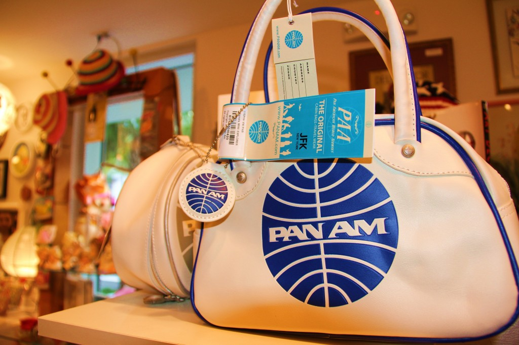 Wow ! Un sac de voyage aux accents vintage de la célèbre PAN AMERICAN