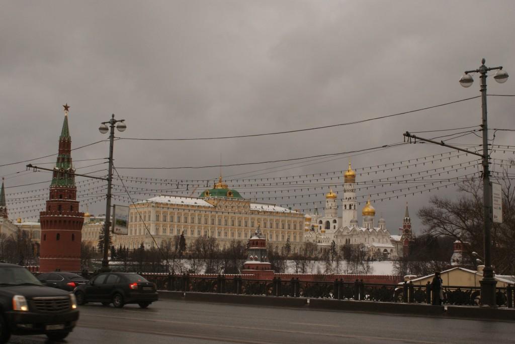 Il fait gris sur Moscou