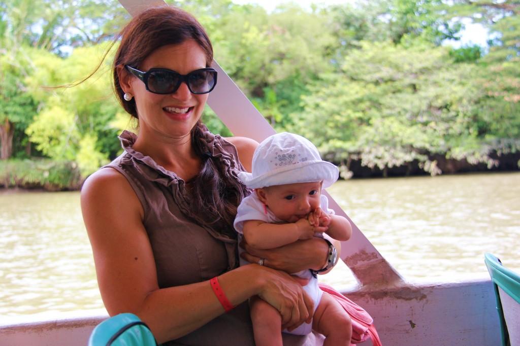 Duo maman bébé au Costa Rica !