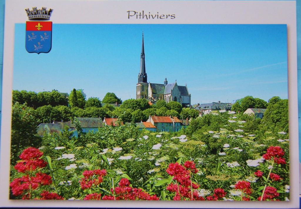 Une carte de Pithiviers, France. Merci Vanessa !