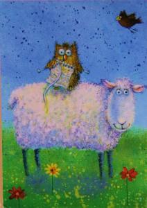 Un mouton finlandais.