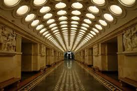 Il est interdit de photographier le métro moscovite ! Photos tirées d'internet.