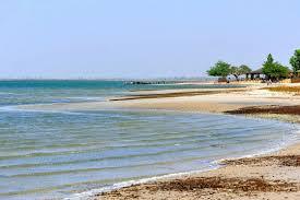 Une des nombreuses plages tranquilles du Sine