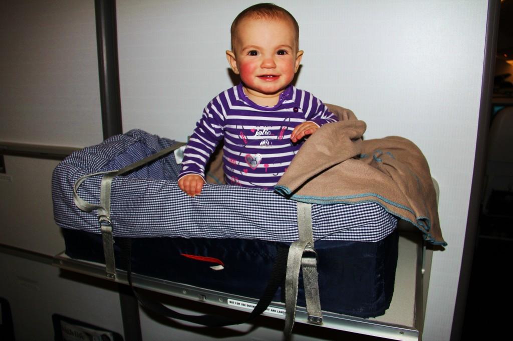 """Laëtie est fière de son siège en """"classe bébé"""""""