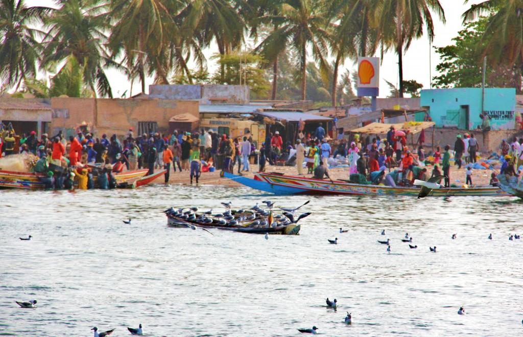 Un typique village de pêcheurs du Sine Saloum !