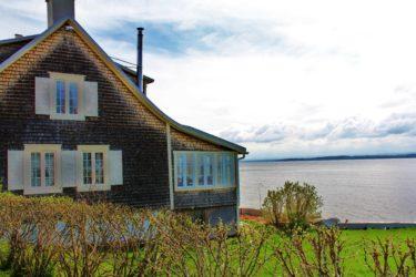 Globe-trotter en famille à l'Île d'Orléans (Québec)