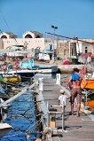 Ici, à Bastia en Corse.