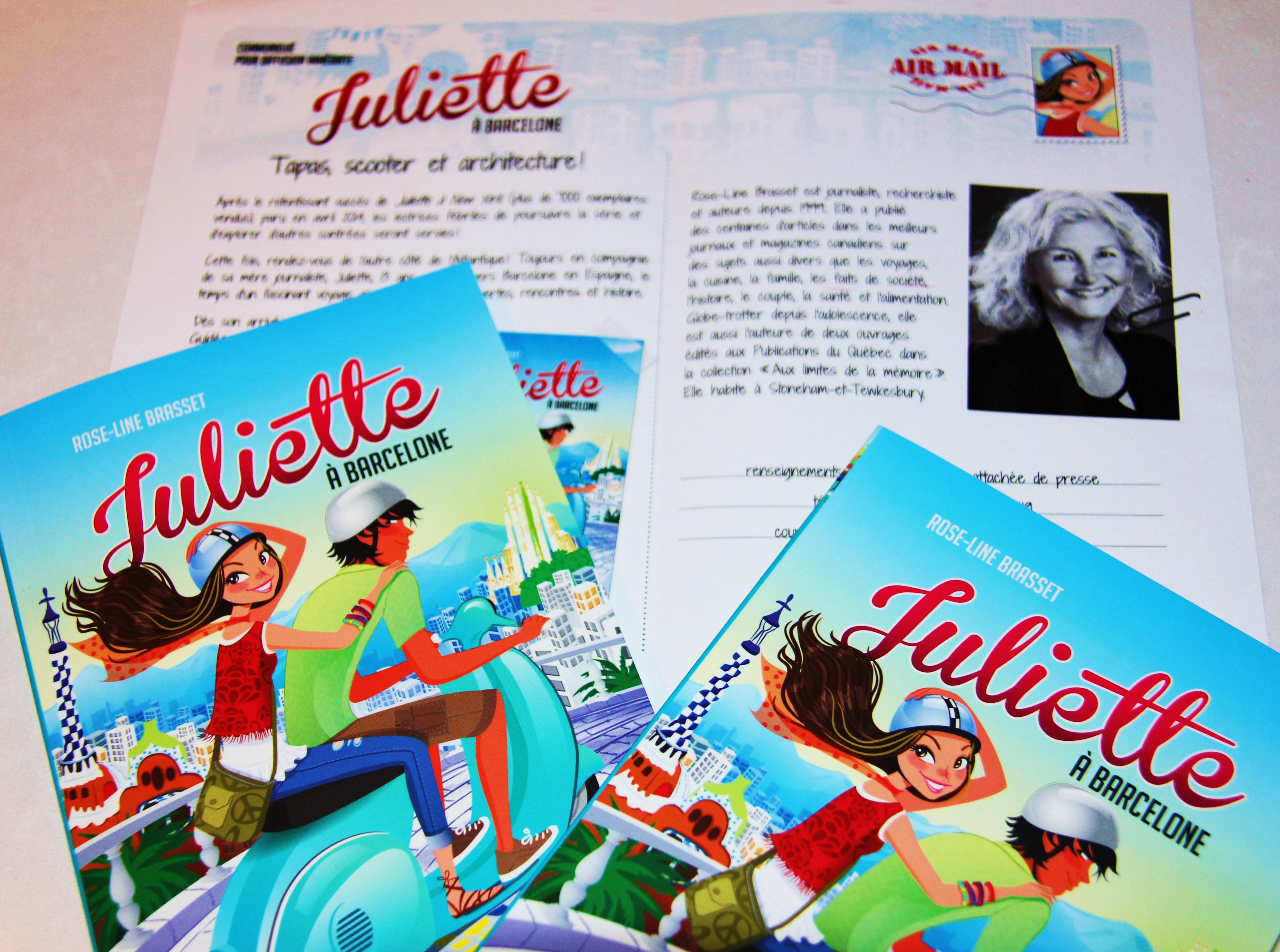 Mon Avis Sur La Serie Jeunesse Juliette Chez Hurtubise