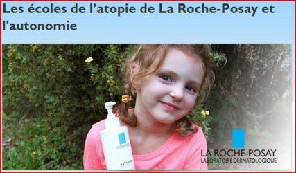 Voyager avec un enfant qui souffre d'eczéma: notre collaboration avec La Roche-Posay