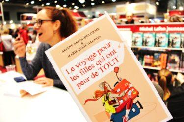 Entrevue «peur/pas peur de voyager» avec l'auteure Marie-Julie Gagnon