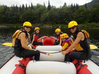 Rafting en famille avec Expéditions Nouvelle Vague #Tourisme Jacques-Cartier