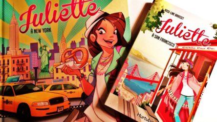 terminé CONCOURS-Gagnez la BD Juliette à New York et le roman Juliette à San Francisco