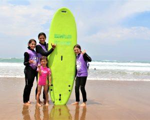 surf entre filles