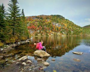 Randonnée en famille - Lac des cygnes